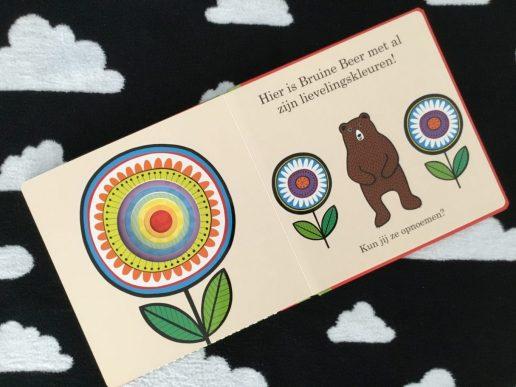 bruine beer en de kleuren