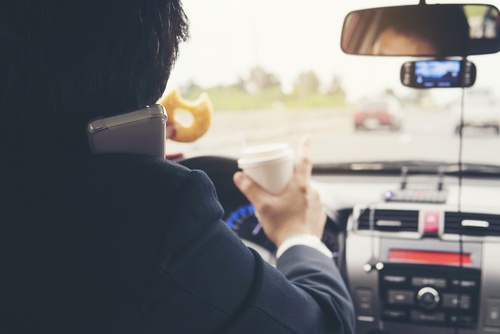 autorijden telefoon
