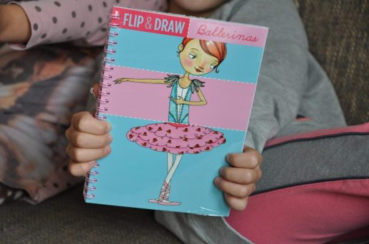 flip and draw