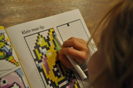 pixel art voor kids
