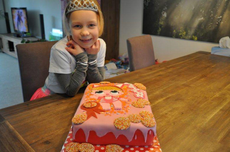 lol surprise birthday cake