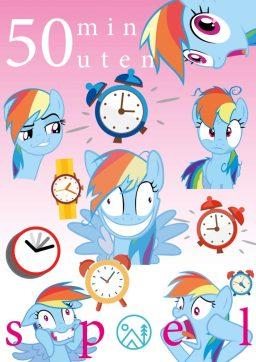 Poster 50 minutenspel
