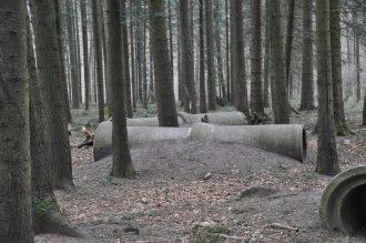spoor van de leeuwwandelroute