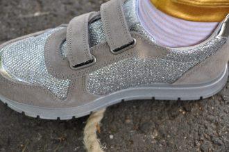 naturino zilver sneaker