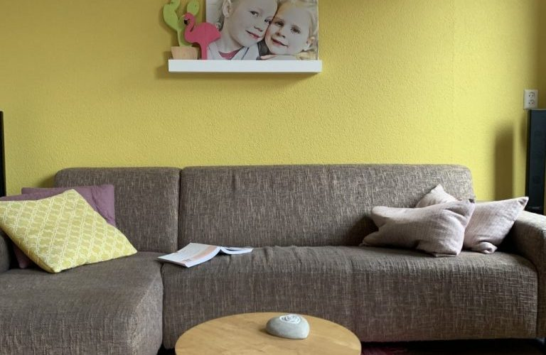 flexa verf gele muur
