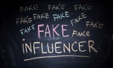 fake influencer