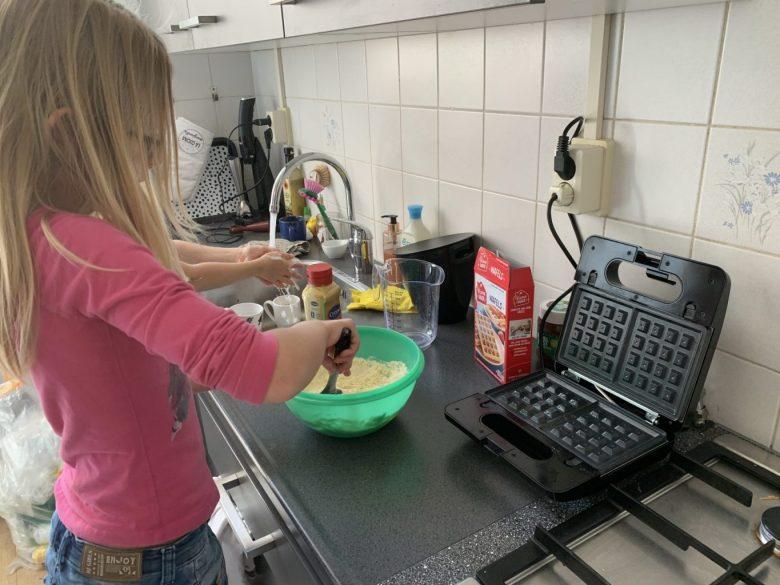 wafels maken