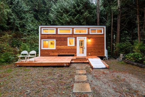 tiny house sfeervol