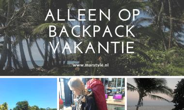 backpack vakantie