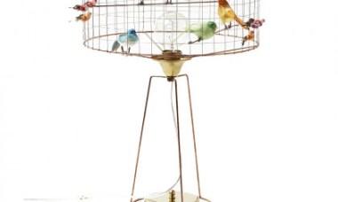lamp vogelkooi vrolijk