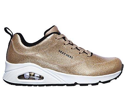 skechers gouden sneaker