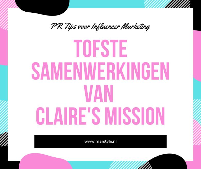 samenwerkingen claires mission