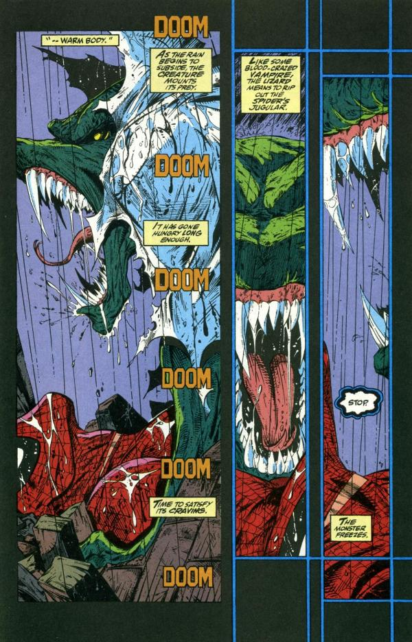 Todd Mcfarlane Torment Of Lizard Mars Send