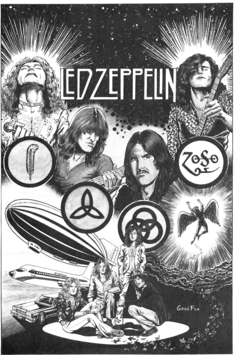 Rock And Roll Led Zeppelin : zeppelin, Zeppelin:, Comics!