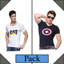 Pack of 2 T-Shirts for Men