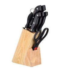 Combo of 1 Cutting Board + 7 Knives Set2