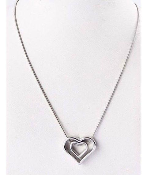 hearts shape pendant