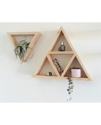 Triangle wall decor Design g