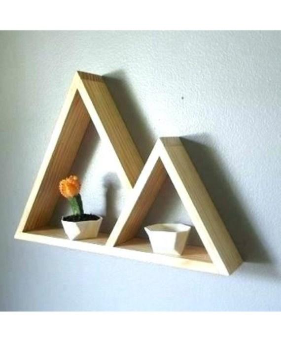 Triangle wall decor Design i