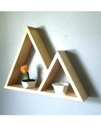 Triangle wall decor Design i