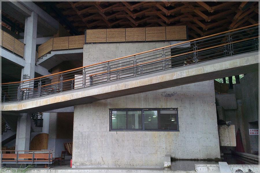 Blick auf die Hochschule der Künste in Hangzhou