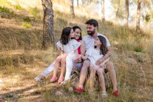 Marta Ahijado, fotógrafa de familias al aire libre en Murcia