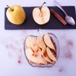 Marta Atram - recetas. crumble de manzana