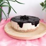 Cheesecake sin horno- vegano y sin gluten