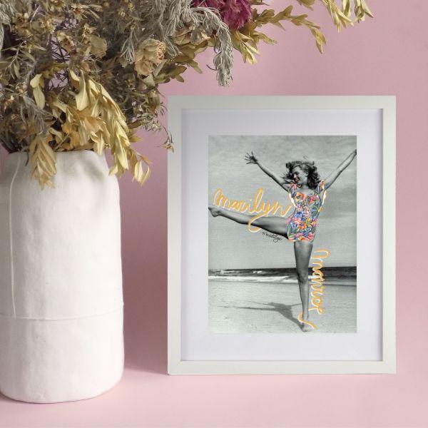 lamina decorativa marylin vintage