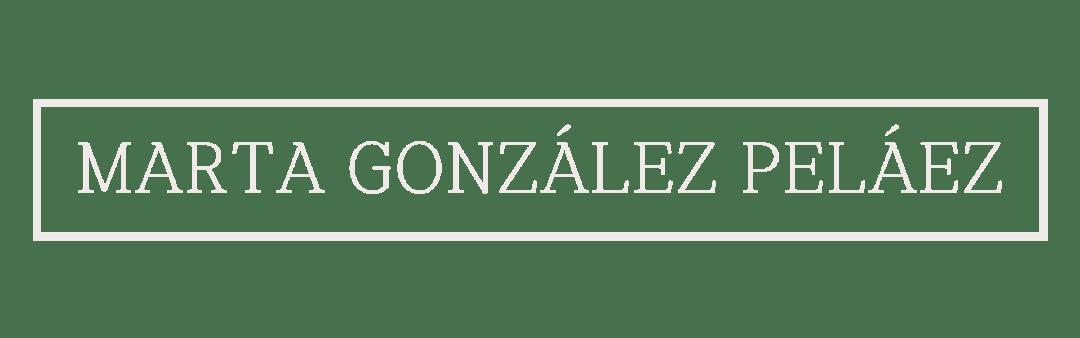 Logo Marta González Peláez