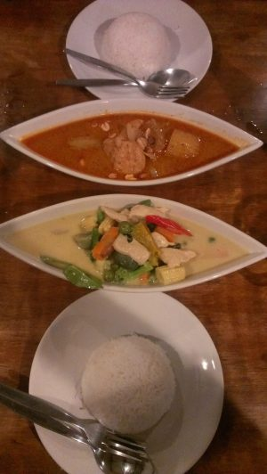 Currys tailandeses: verde y massaman