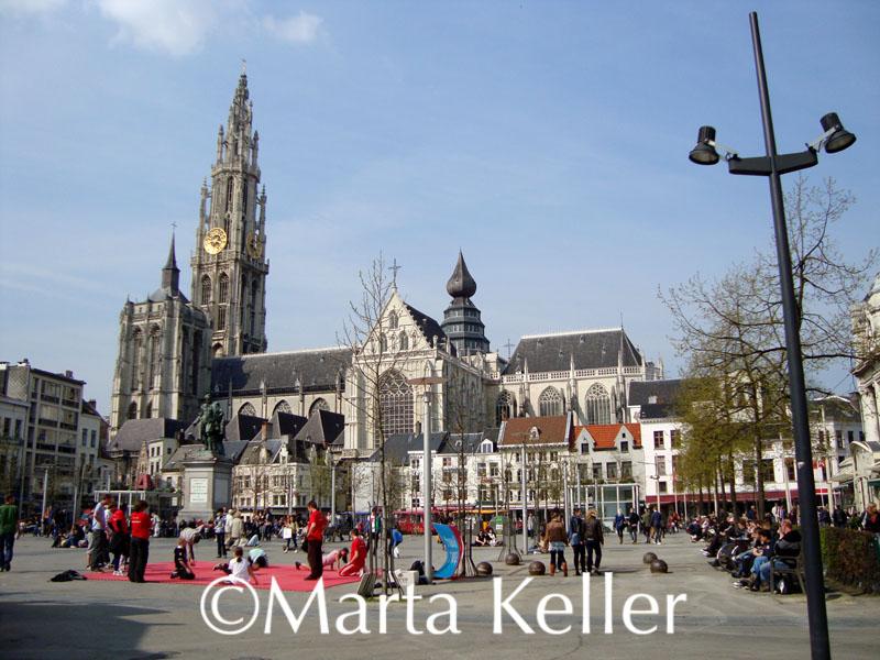 Audioguía de la Catedral de Amberes, Bélgica