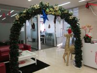 Christmas decorations in Shanghai | Marta lives in China