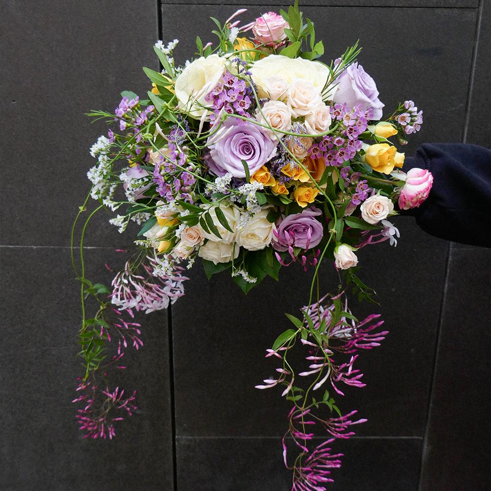 ramo novia Rosas MartaMajo Flors