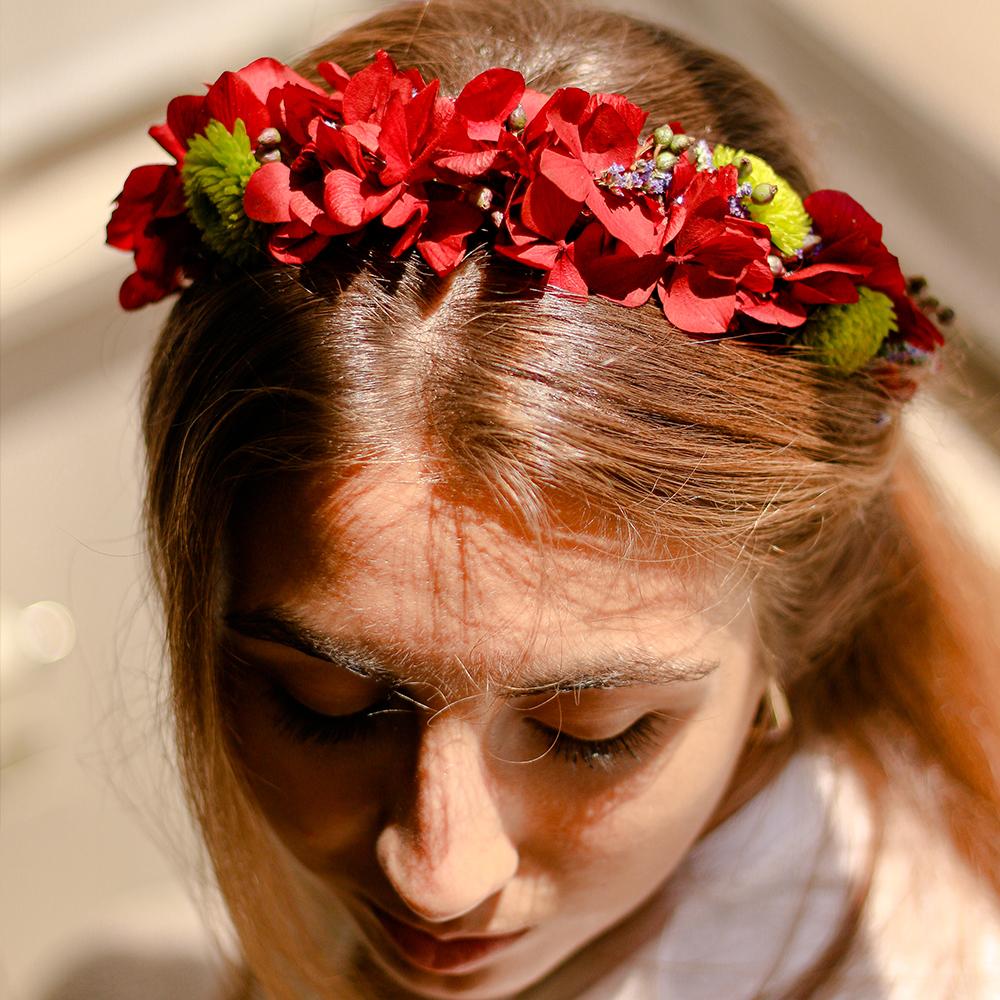 corona floralc complemento martamajo flors