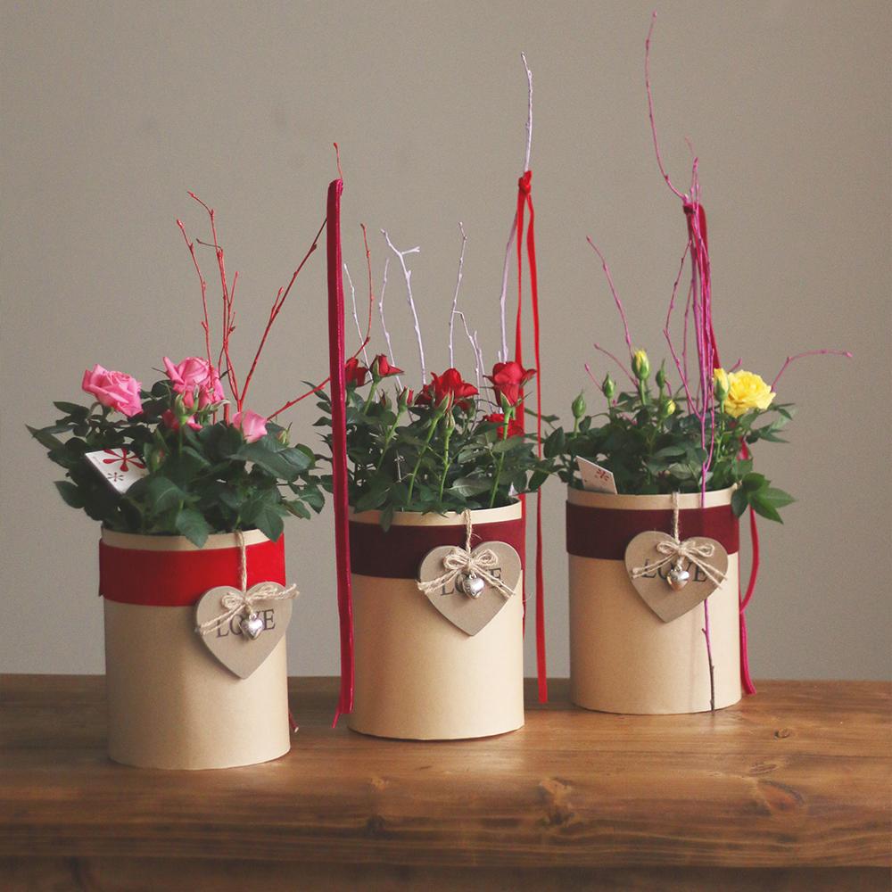rosal san valentin amor ramo flores floristeria blanco martamajo flors lilium rosas sant feliu de llobregat barcelona rosa