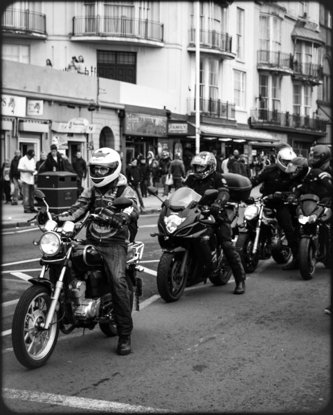 2016 Jack in the Green Motorcycles At Stoplight small