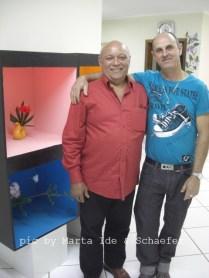 """Fundação Mokiti Okada - Exposição de Ikebana - unidade são Mateus - SP - """"os Luises"""""""