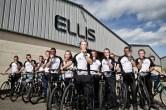 Only 16 Bradley Wiggins - Team Ellis get set for cycle challenge (pic 1)