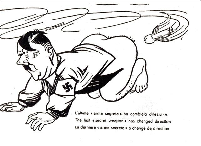 Vignette satirico-erotiche con Hitler e Mussolini