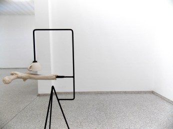 Shadow Study (Femur and Upper Arm Bone Connected by One Single Shadow) Mark Manders, 2011