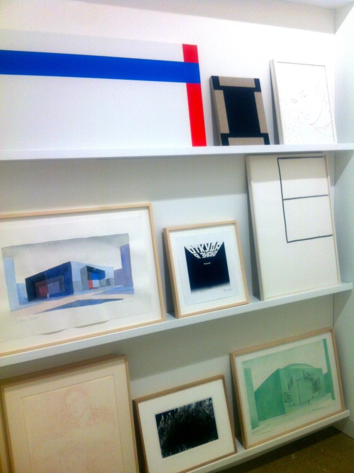 Diverse opere esposte nella Gallery Skopia P.-H. Jaccaud