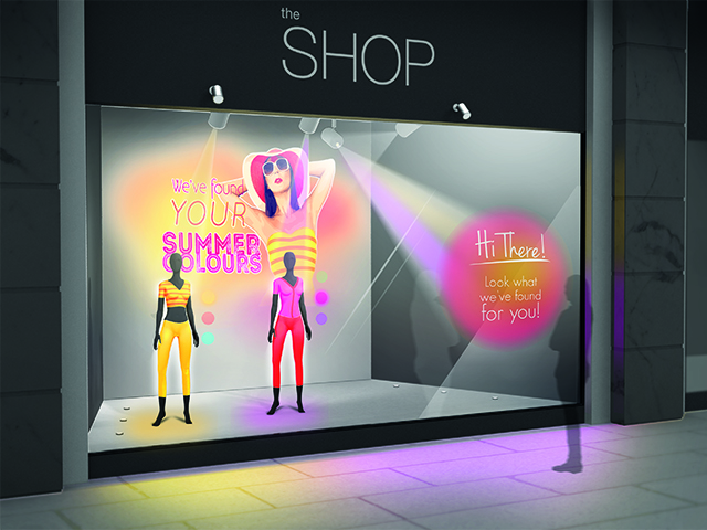 Epson LightScene: Interactive Retail Experiences with Digital Projection