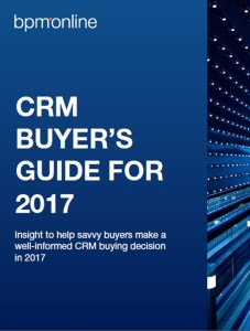 CRM BUYER'S GUIDE FOR 2017