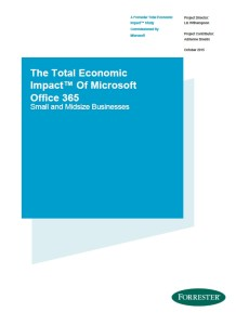 forrester-smb-total-economic-impact-report-microsoft-office-365
