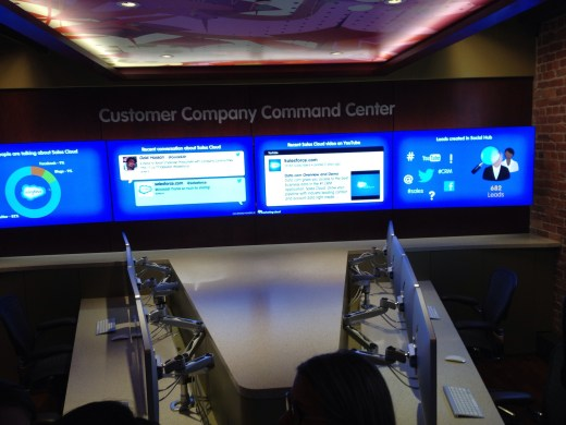 Salesforce Social Media Command Center