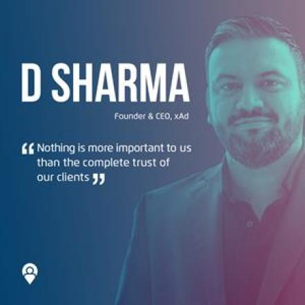 D Sharma, Founder & CEO, xAd