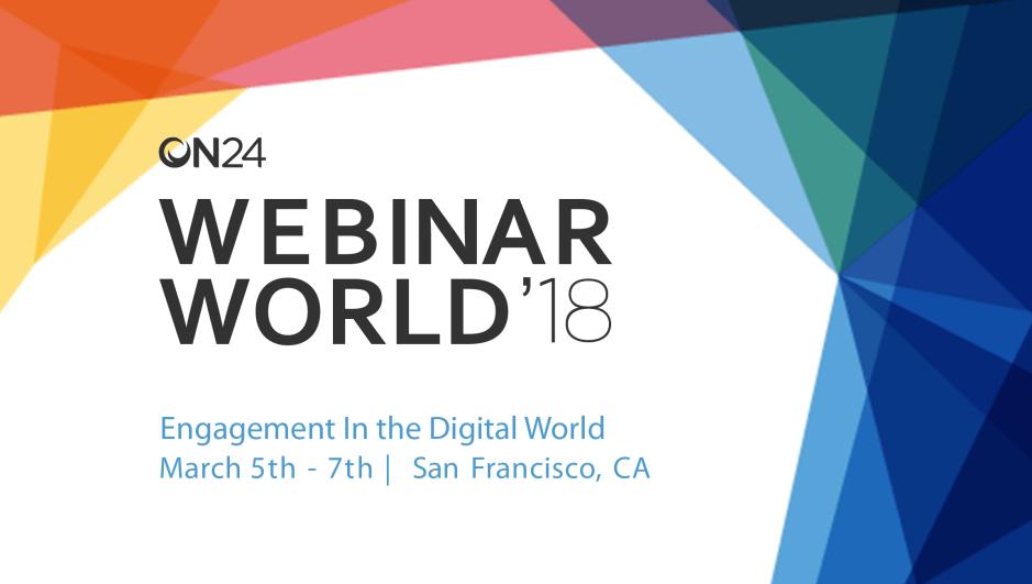 ON-24 Webinar World 2018