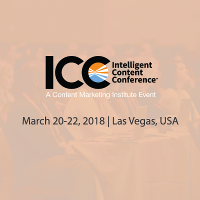 Intelligent Content Conference