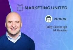 Marketing United 2018 Techbytes with Colby Cavanaugh, SVP Marketing, Emma